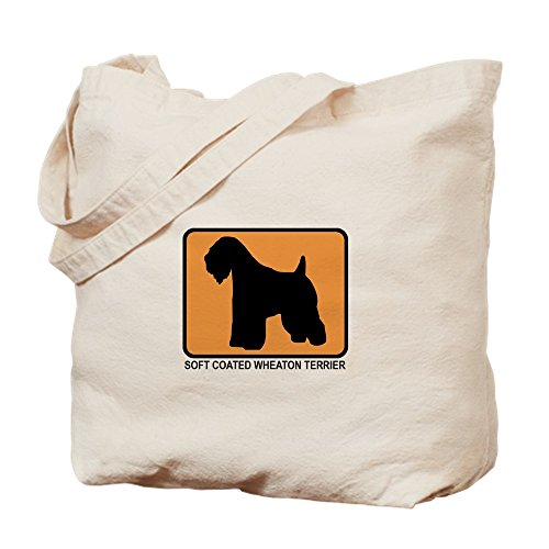 Terrier Coated CafePress Shopping Natural Tote Bag Bag Canvas Soft Cloth Wheaton wOwqPa5t4