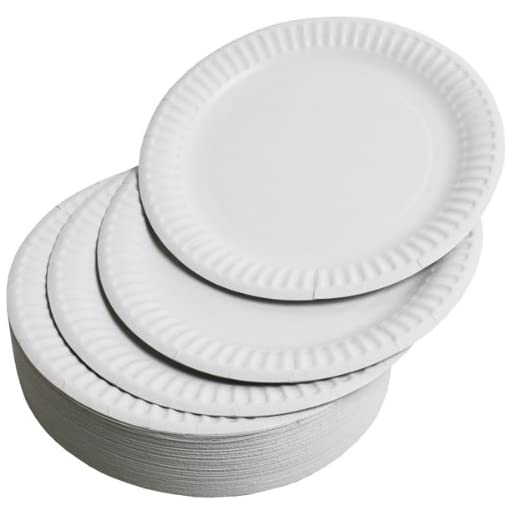 Plato-desechable-de-papel-100-unidades-color-blanco