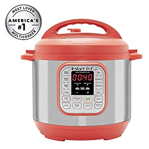 Instant Pot IP-DUO60RED Pressure Cooker, 6 quart, Red (Renewed) 16