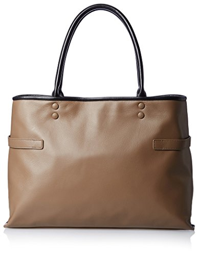 Diana Leather Tote - Belle & Bloom Women's Diana Leather Tote, Taupe