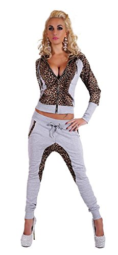 Forlisea-Women-Sexy-Leopard-Print-Long-Sleeve-Two-Pieces-Sweater-Suit-With-Zipper
