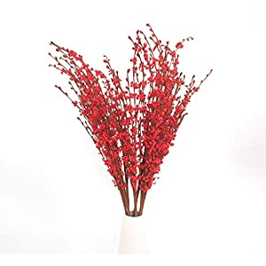 """Nolast 10 Pieces 29.5"""" Long Artificial Flowers Faux Jasmine Fake Flower for Wedding Home Office Party Hotel Restaurant Decoration 118"""
