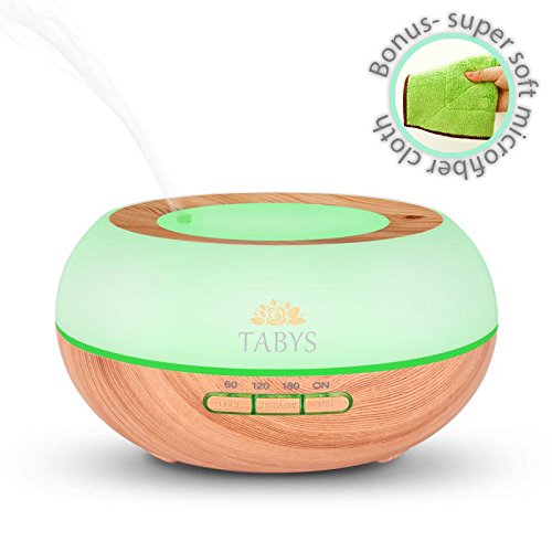 Diffuser for Essential Oil and Humidifier for Bedroom Cool M