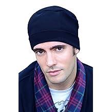 Mens Night Cap - 100% Cotton Sleep Cap for Men - Sleeping Hat for Man