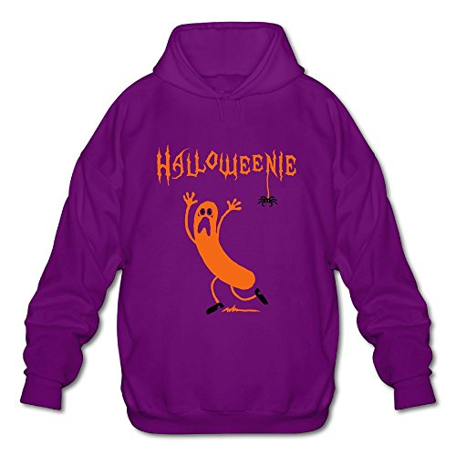 HAPPY NISE Halloweenie A Running Sausage Sweater SizeL ColorPurple ()
