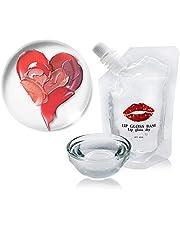 Urhause DIY lipgloss kit lipgloss basis voor lipgloss freeorr moisturize lipgloss basis heldere versagelbasis lipbalsem lipgloss voor plumper lip maximize lippenstiften handgemaakt lipgloss glaze gel 40 ml