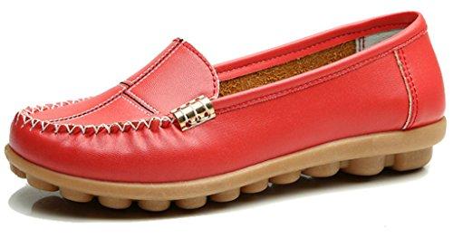 GFONE - Zapatos de tacón  mujer Red
