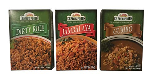 Tony Chachere's Creole Rice Dinner Mix Variety Pack 5 Oz (Pack Of 3)