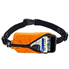 The Original SPIbelt is perfect for holding your smart phone as well as keys, ID, headphones, cash, credit cards, or even a passport. Wear it while running, working out, jamming out at a music festival, or traveling the world! This belt is a ...