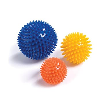 Physio Room Spiky - Pelota con púas para masaje Talla:6cm (Orange ...