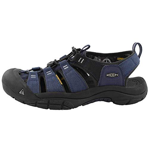 KEEN Men's Newport H2 Sport Sandal Dress Blue 11 M US - Keen Shoes Bags