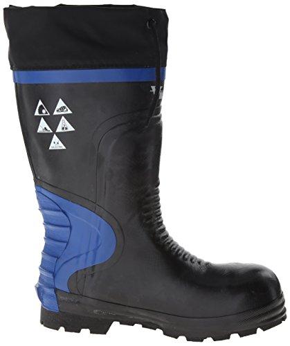 Viking Schoenen Ultieme Constructie Waterdichte Laars Zwart / Blauw