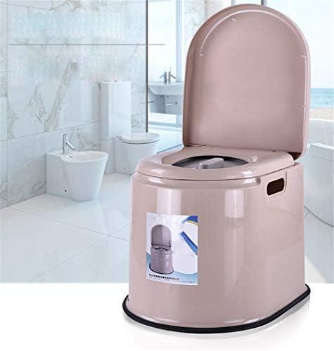 No logo TIN-YAEN Badezimmer Rollstühle, WC-Stuhl tragbarer Kunststoff kann for Kinder bewegt Plumpsklo und Schwangere...