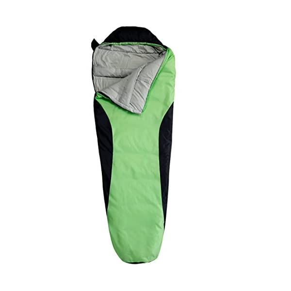 FARLAND Camping Sleeping Bag Envelope Mummy Outdoor Lightweight Portable Waterproof Perfect For 20 Degree TravelingHiking Activities