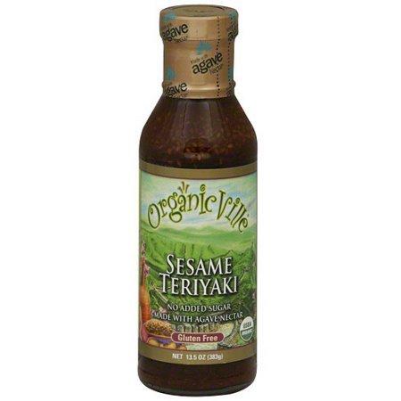 (OrganicVille Sesame Teriyaki Sauce & Marinade 13.5 oz (Pack of 3))