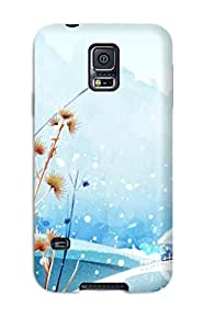 First-class Case Cover For Galaxy S5 Dual Protection Cover Nature