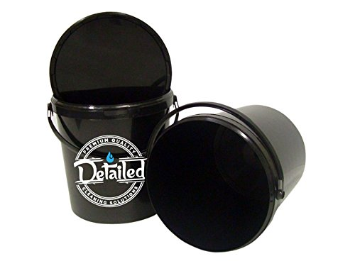DetailedOnline Valeting Bucket Car Wash Detailing Automotive Car Cleaning Shampoo 2 Buckets