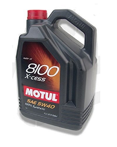 Motul 102870-4PK Motor Oil - 5 Liter, (Pack of 4) by Motul
