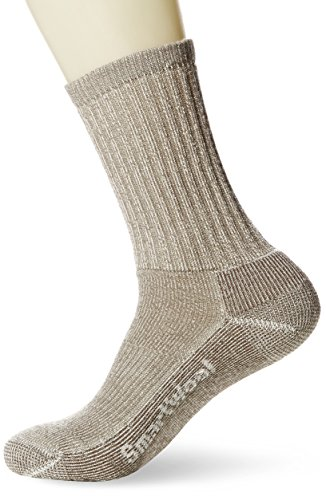 Smartwool Men's Hiking Light Crew, Taupe size Large