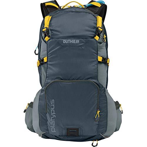 Platypus Duthie AM Utility Hydration Backpack, 15.0-Liter, Titanium Gray ()