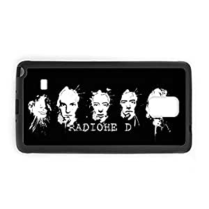 Generic Individual Soft Silicon Design With Radiohead For Galaxy Note 4 Samsung For Boys Shell
