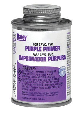 Oatey Primer Low Voc 8 Oz Purple