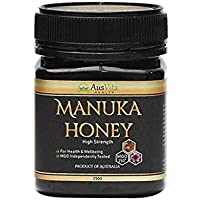 AusVita Highest Quality Manuka Honey Certified MGO 250+ (250g)