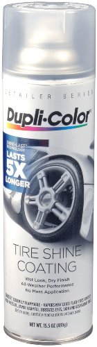 Dupli-Color TSCH100 Tire Shine Coating - 15.5 oz. (Dupli Color Wheel Coating)