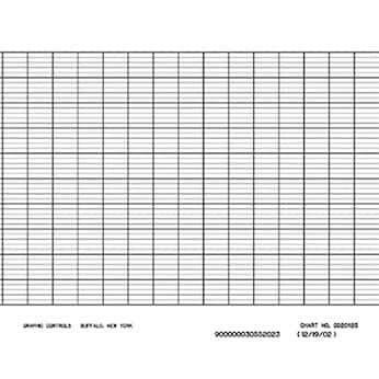 Fuji PEX00DL1-5000B 100-mm Strip Chart Recorder Paper; 6/Pk