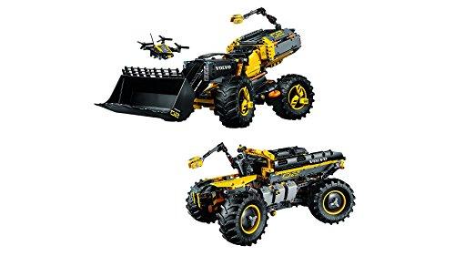 LEGO- Technic Volvo Ruspa gommata ZEUX, Multicolore, 42081 4 spesavip