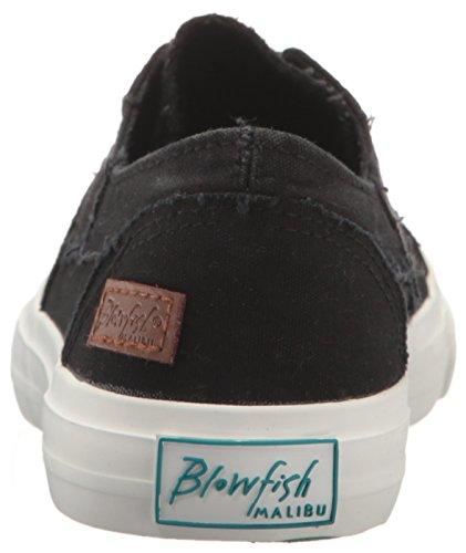 Blower Dames Marley Sneaker Zwart Gewassen Canvas