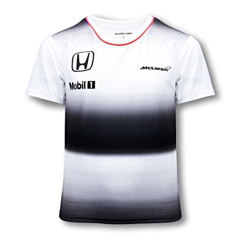 Price comparison product image Honda MCLAREN Jenson Button T-Shirt Kids 2016 Replica (7-8 Years)