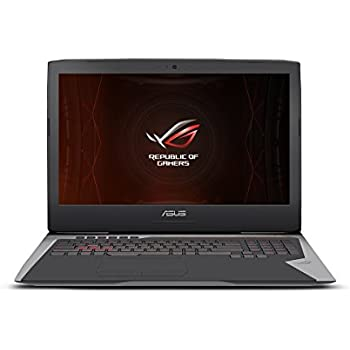 "ASUS ROG G752VS OC Edition Gaming Laptop, 17"" 120Hz G-SYNC Full HD, Intel Core i7-7820HK CPU, 16GB DDR4 RAM, GeForce GTX 1070-8GB, 512GB PCIe SSD, VR Ready, Overclocked, Windows 10 Pro - G752VS-XS74K"