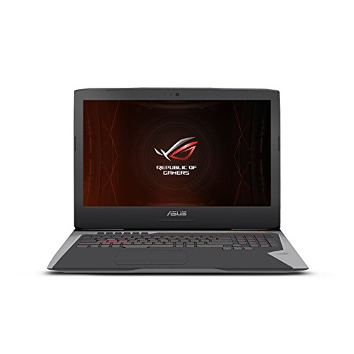 ASUS ROG G752VS-XS74K OC Edition Gaming Laptop, 17-inch 120Hz G-SYNC Full-HD, Intel Core i7-7820HK, GTX 1070, 512GB PCIe SSD, 16GB RAM, Copper Titanium - 2018