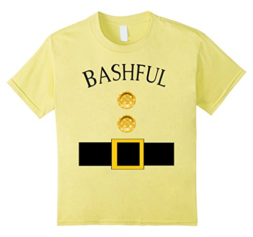 Kids Cute Bashful Halloween Group Costume T Shirt | Team Tees 6 (Cute Mother And Son Halloween Costumes)