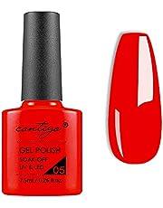 CONTIGO 24 Popular Colors 1 X 7.5ml Gel Nail Polish Soak Off UV-LED Nagellak