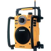 Sangean U-1 AM/FM Analog Utility Radio (Yellow)