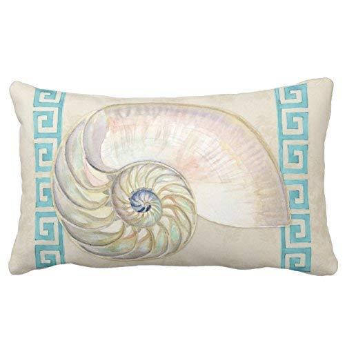 ale huang Nautilus Shell Acuarela Tecla Griega Damasco ...