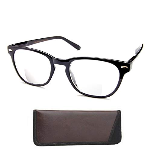 The Panorama - Quality Bifocal Reading Glasses - Reading Glasses You Can Wear All The Time! , 1.50, ()