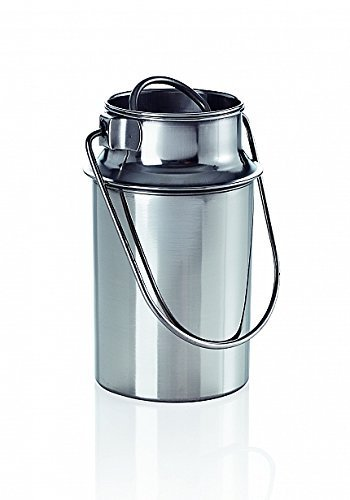 6,0/L transporte titular Metal acero inoxidable jarra de leche jarra de leche Transporte