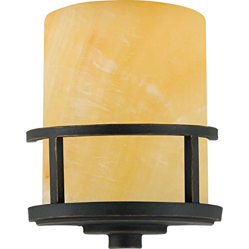 Quoizel KY8801IB Kyle Rustic Wall Sconce, 1-Light, 75 Watts, Imperial Bronze (11