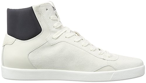 Armani C656418 - Zapatillas altas Hombre Blanco - Weiß (BIANCO - WHITE F1)