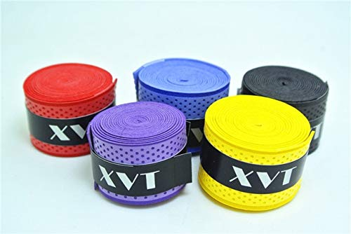 CUSHY XVT eco-Friendly Badon/Table Tenni Handletape Tenni Racket overgrip/quah Tape/fihing Rod Tape 5pc/lot: Random