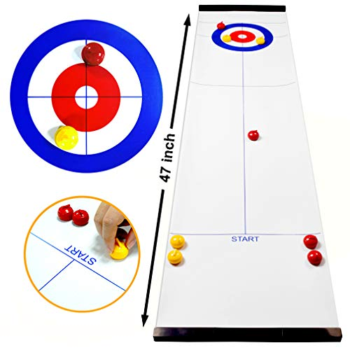 TableTop Curling Game and