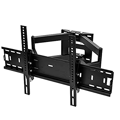 Sunydeal Full Motion TV Tilt Swivel Wall Mount for VIZIO 40 43 49 50 55 inch LED LCD Televisions D40u-D1 D40-D1 D43-D1 D50-D1 M43-C1 M49-C1 M50-C1 M55-C2 E50-C1 E48-C2 E43-C2 E40-C2