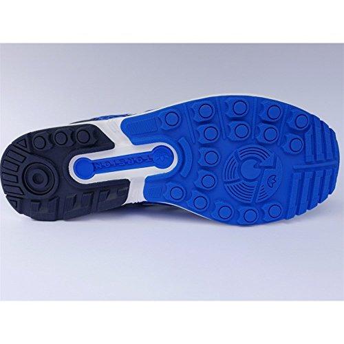 Homme Techfit Adidas Baskets Bleu Basses Zx Flux EaqqWSB