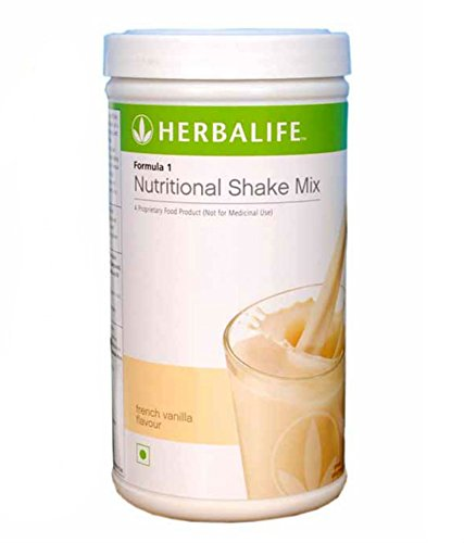 Herbalife Weight Loss Diet Program - F1 Vanilla, Afresh Lemon, Nutritional Shake Protein Powder Mix, Natural Organic Meal Replacement Shake Package for Men and Women by Herbalife (Image #1)