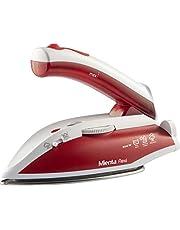 Mienta SI18709A Flexi Steam Iron, 800 Watt - White and Red