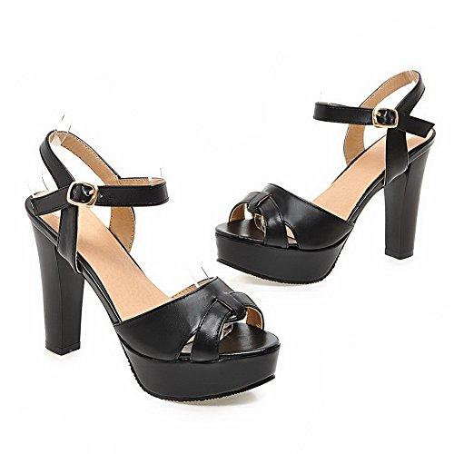 Noir pour Sandales pour femme Sandales femme 1TO9 1TO9 qx1ZAw04