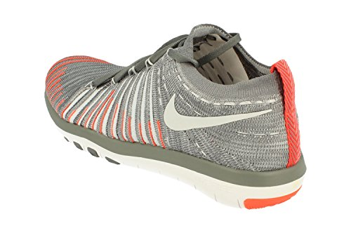 Nike Frauen Free Transform Flyknit Trainingsschuhe Cool Grey Pure Platin 006